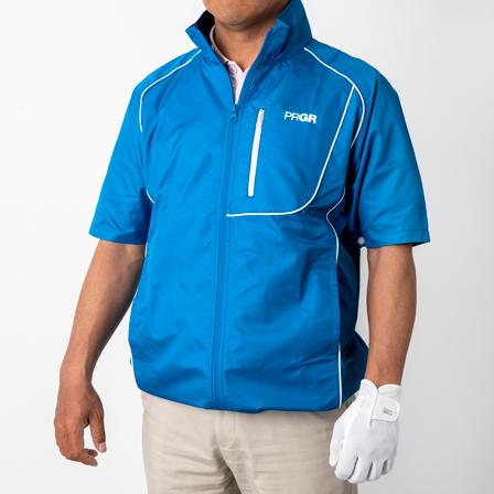 夏のゴルフプレーが涼しく快適に♪暑さ対策ウェア AIR COMPO (エアーコンポ)デビュー!