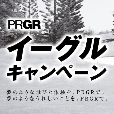 【PRGR イーグルキャンペーン】PRGRゴルフクラブを購入で豪華賞品が抽選で!アイアンプラス1キャンペーン同時開催。