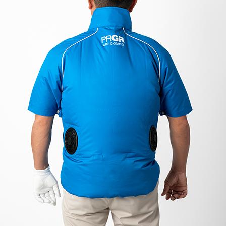 熱中症対策!暑さ対策ウェア AIR COMPO ゴルフ以外の様々なアウトドアシーンでも大活躍!